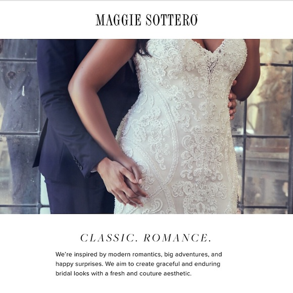 Maggie Sottero Dresses & Skirts - Maggie Sottero Couture Wedding Gown